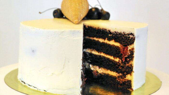 Торт на основе сливочного сыра